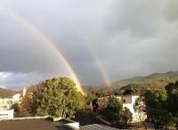 2016.1.18 二重の虹が。。。