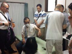 写真1 わよう鍼灸マッサージ治療院での様子です