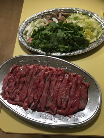お肉がキター(*^^)v