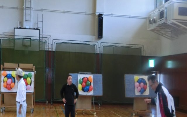 「キッズアーチェリー教室」が開かれました。
