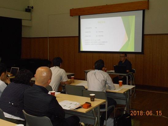 浄土真宗本願寺派関係学校教員の方がフィールドワークの一環として桃山学園を見学されました。(35名)