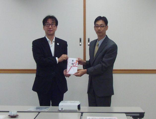 大阪ガス株式会社より寄付を受けました。