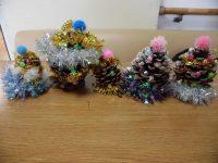クリスマスツリーを作りました!