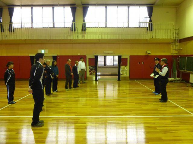 写真4 下鴨警察署による訓練講評