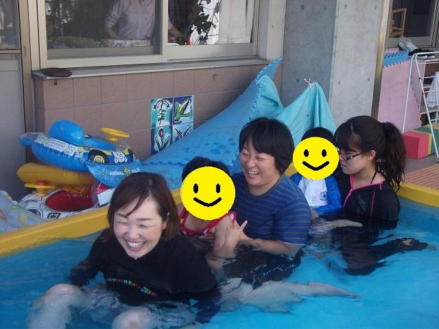 ☆ふじぐみ☆ プール遊びをしました