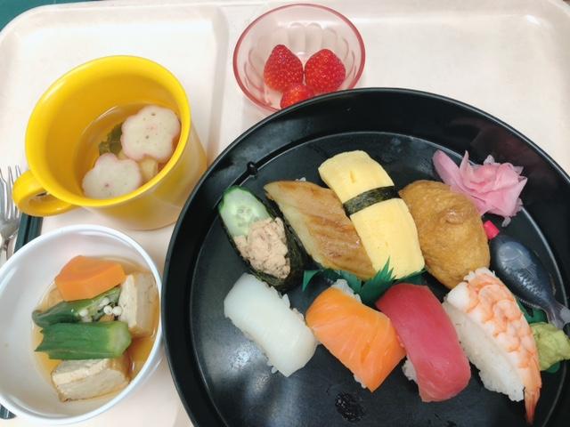 2月度食事会「にぎり寿司」